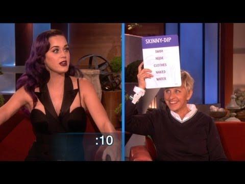 「Katy Perry跟Ellen玩猜字謎遊戲」- Katy Perry and Ellen Play Taboo