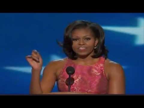 「第一夫人蜜雪兒歐巴馬2012民主黨大會完整演說」- Michelle Obama's full DNC speech