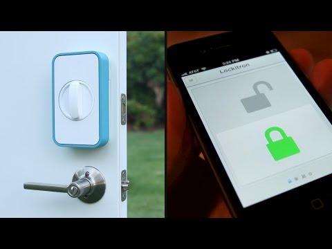 「立即鎖」- Lockitron: Keyless Entry Using Your Phone