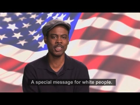 「Chris Rock:給白人選民的一段話」- Chris Rock: Message for White Voters