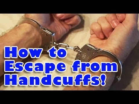 「手銬逃脫藝術」- How to Escape from Handcuffs!