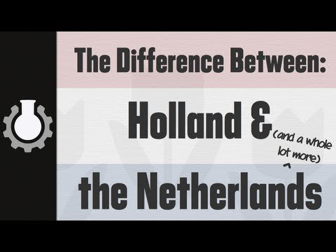 「荷蘭還是尼日蘭?」- Holland vs the Netherlands