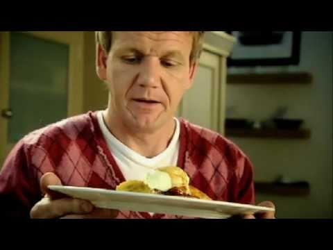 「Gordon Ramsay:蘇格蘭鬆餅搭配焦糖香蕉」- Gordon Ramsay: Scotch Pancakes with Caramelized Banana