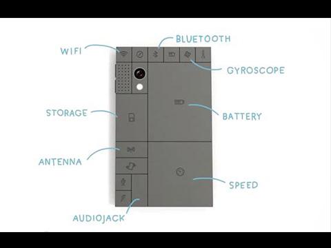 「DIY積木手機」- Phonebloks