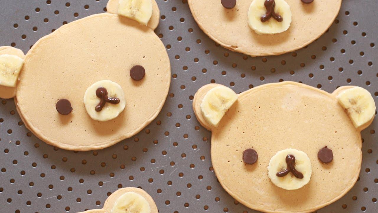 「捨不得吃掉的拉拉熊鬆餅」- Rilakkuma Bear Pancakes
