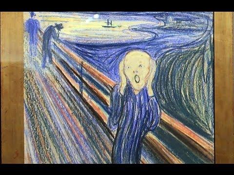 「名畫〈吶喊〉遭竊及尋回的故事」- How I recovered The Scream