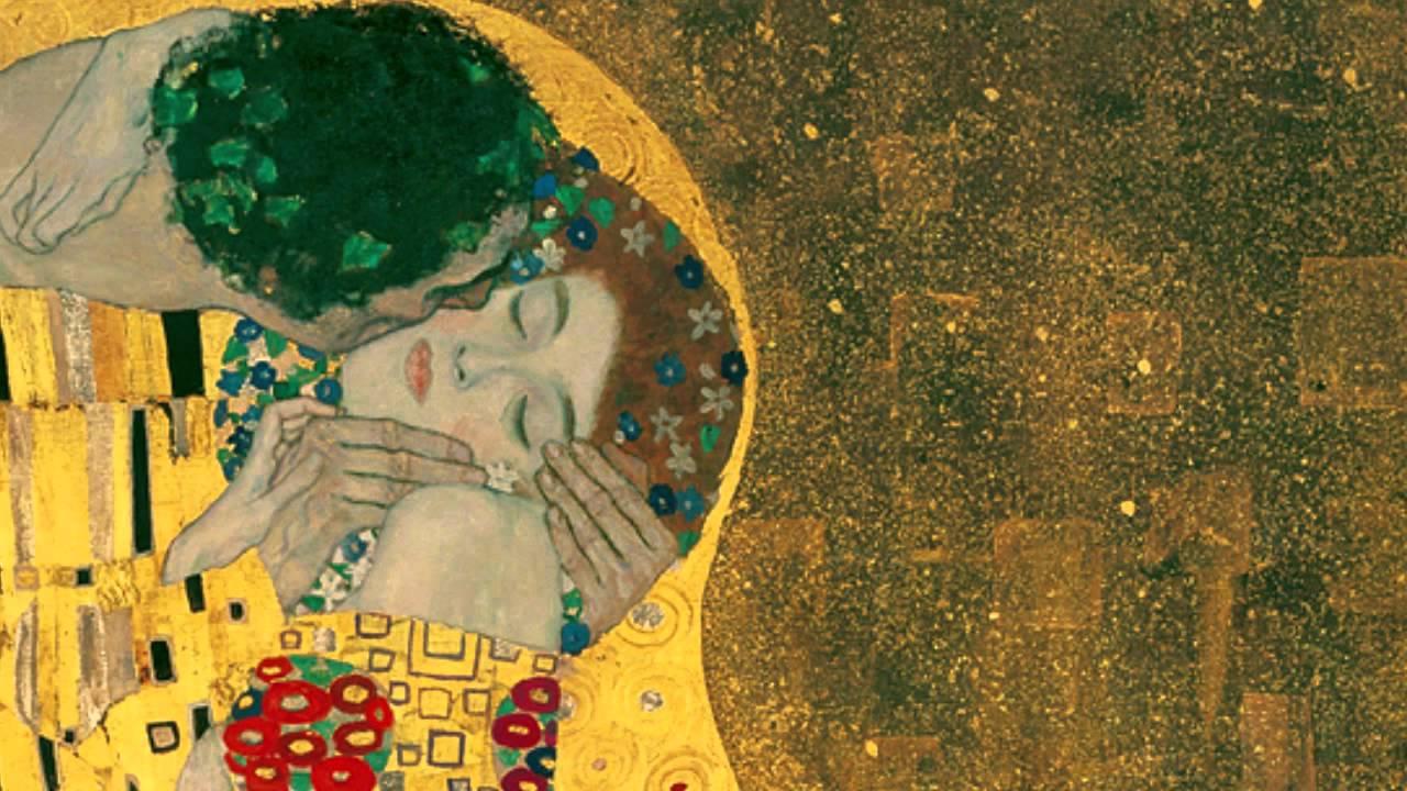 「克林姆:〈吻〉」- Gustav Klimt, The Kiss, 1907-8