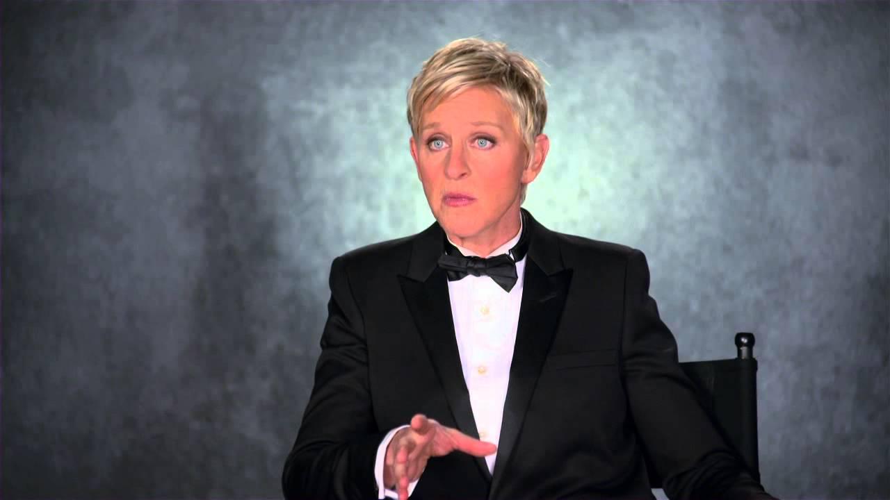 奧斯卡主持人Ellen DeGeneres趣味訪談
