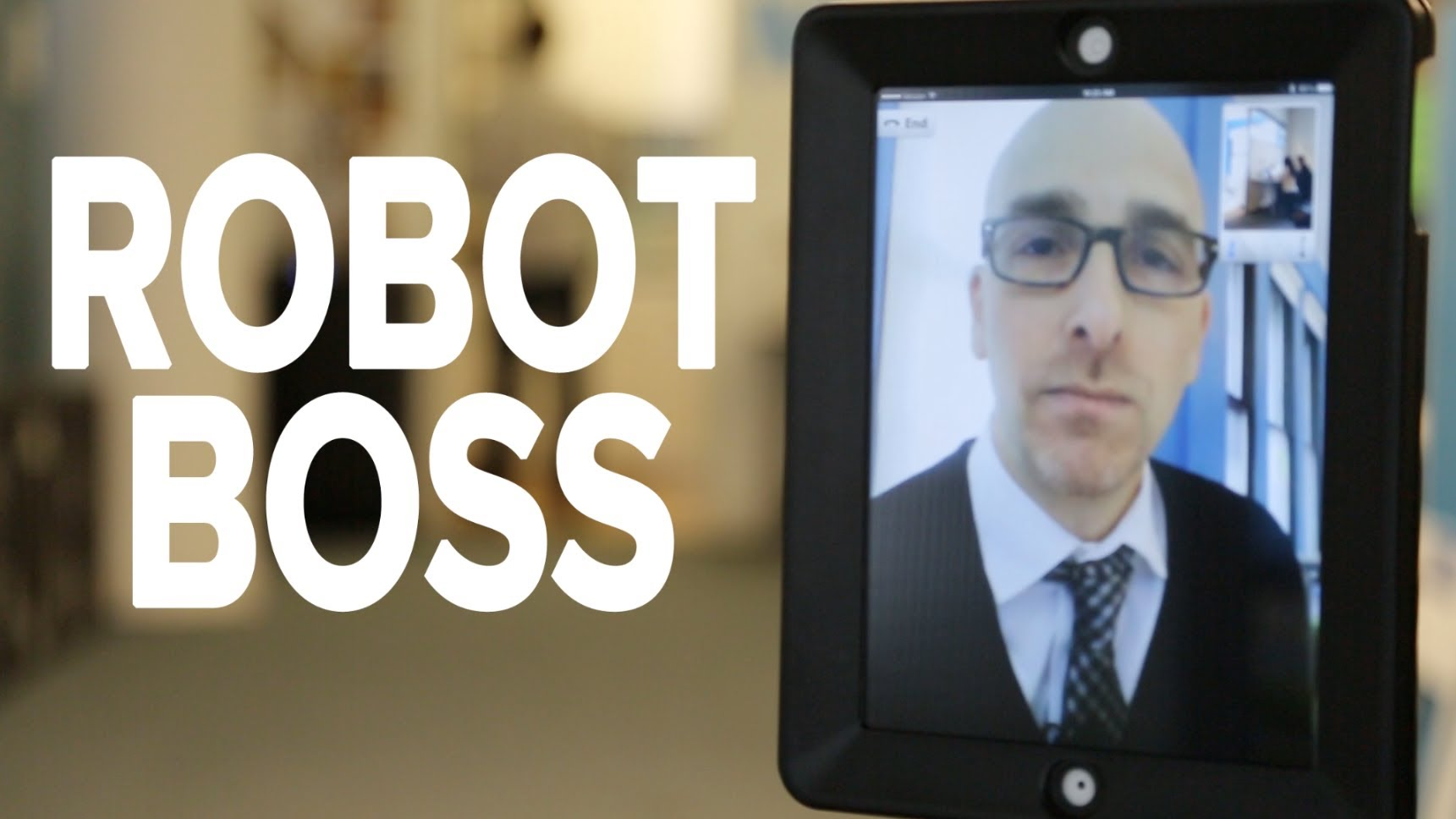 「機器人老闆:辦公室的惡夢」- Meet Robot Boss, Your Worst Office Nightmare