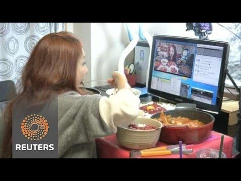 「南韓網路新風潮:看我吃東西」- Watch me eat: an online craze in South Korea