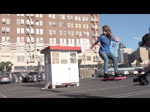 「《回到未來》的懸浮滑板真的出現了!」- HUVrTech: Believe