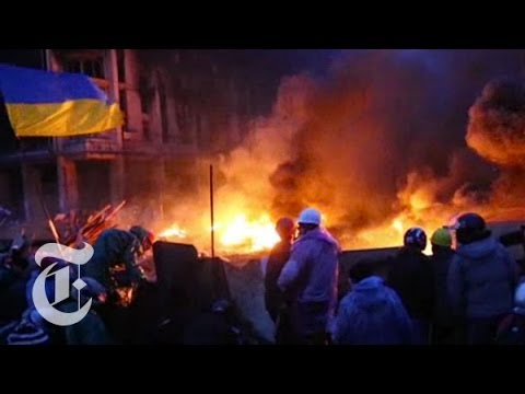 「烏克蘭的分裂危機」- Ukraine Protest 2014: The Divide, Explained