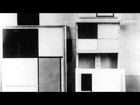 「皮耶蒙德里安:〈紅、黃、藍的構成〉」- Piet Mondrian