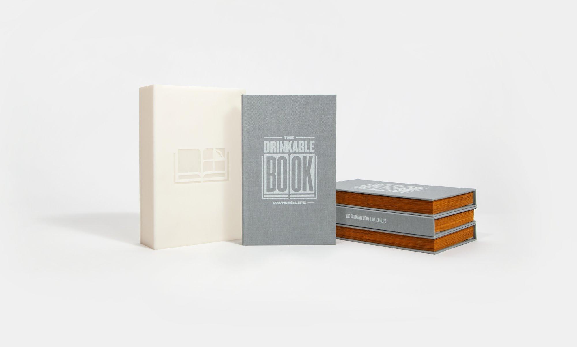 「水源安全救星:可以喝的書」- The Drinkable Book