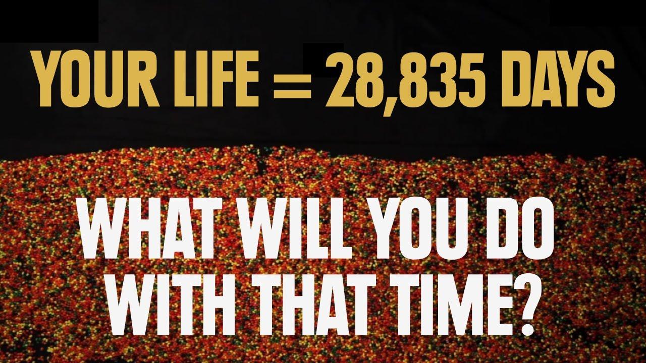 【生活英文】人生只有一次,你還有多少時間?