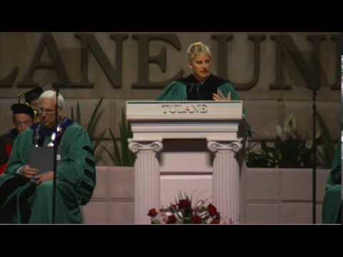 奧斯卡主持人艾倫.狄珍妮畢業演說:跟隨熱情、對自己誠實