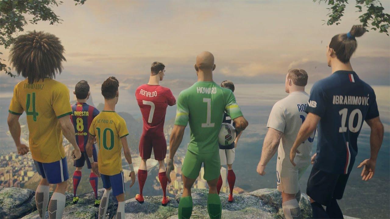 迎接2014年世足賽:看勵志動畫認識明星球員