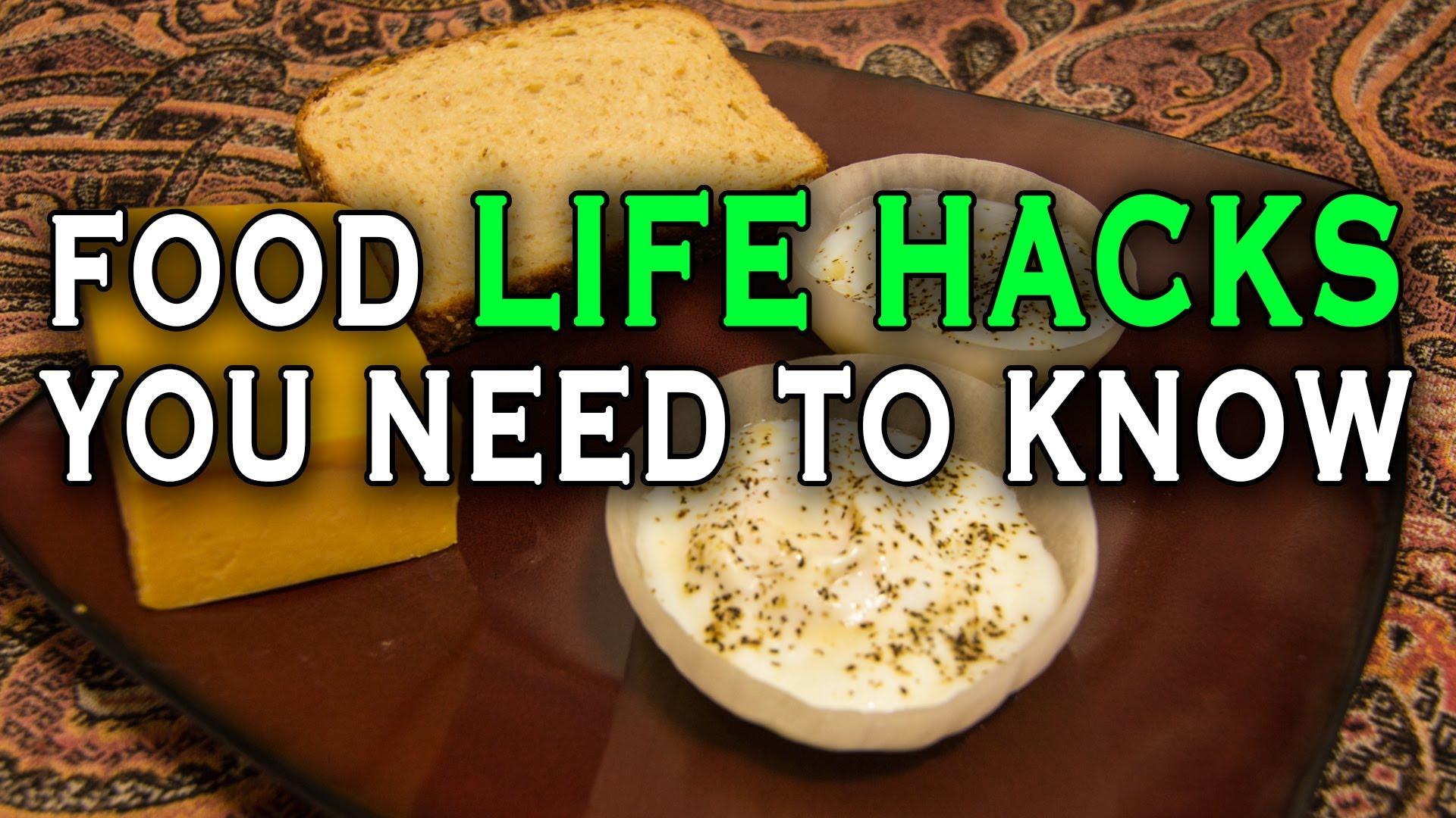 「十個你不可不知的生活偷吃步」- Ten Incredible Food Life Hacks you need to know