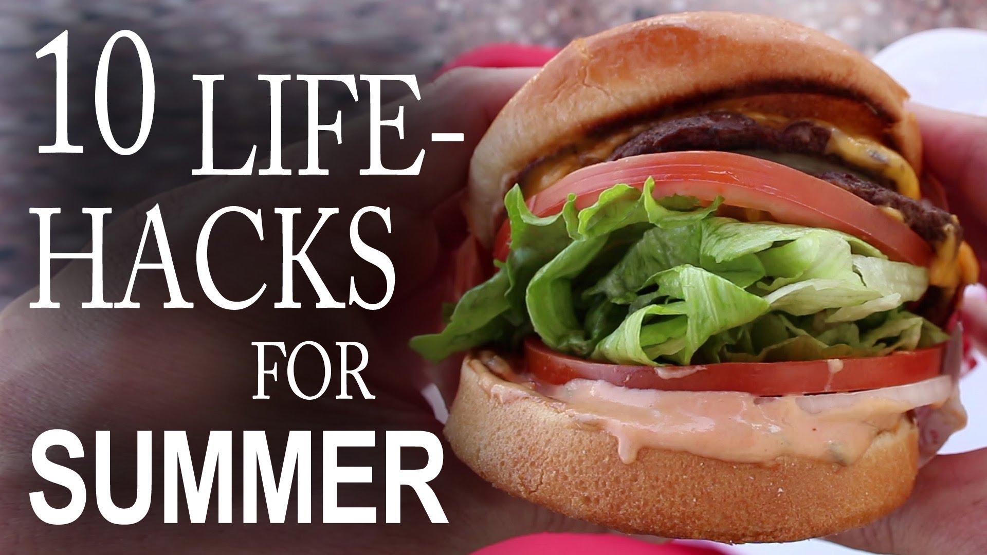 「夏日大作戰!十個實用生活小技巧」- Ten Life Hacks You Need To Know For Summer!
