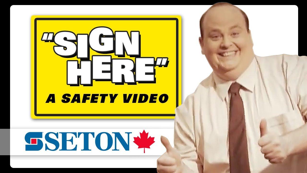 「趣味宣導影片:安全標示小須知」- Funny Sign Safety Video