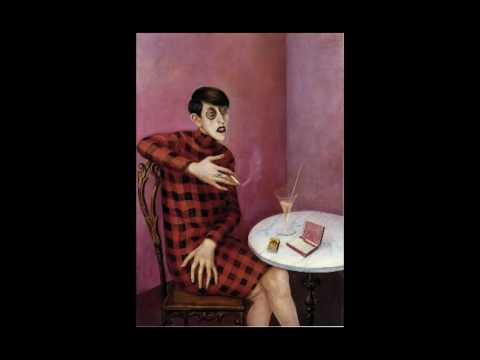 「奧托‧迪克斯:〈記者席維亞‧馮‧哈德肖像〉」- Dix, Portrait of Sylvia von Harden, 1926