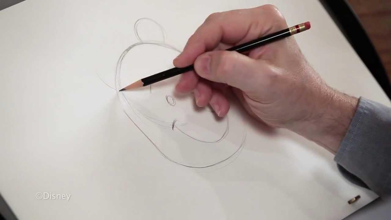 「迪士尼動畫師教你畫小熊維尼!」- How to Draw Pooh with Mark Henn