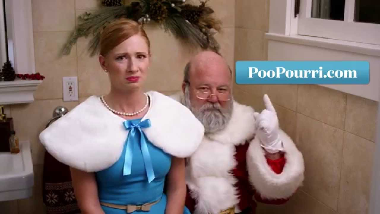 「臭臭聖誕老人被抓包!」- Even Santa Poops