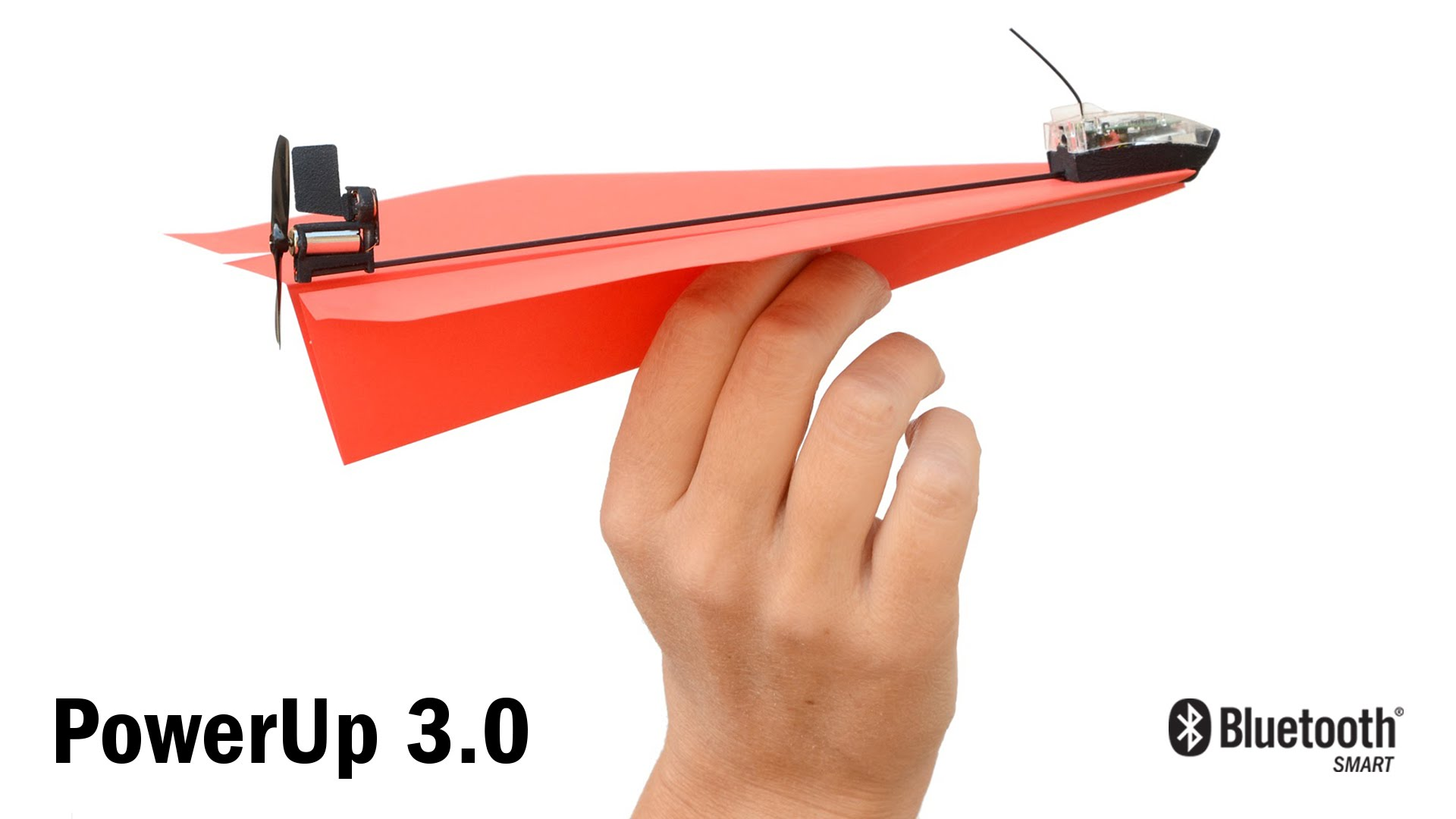 「我的遙控『紙』飛機」- PowerUp 3.0 Smartphone Controlled Paper Airplane