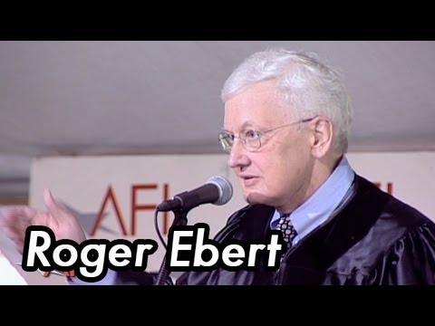 「權威影評Roger Ebert獲頒美國電影學院榮譽學位」- Roger Ebert 2004 AFI Commencement Ceremonies
