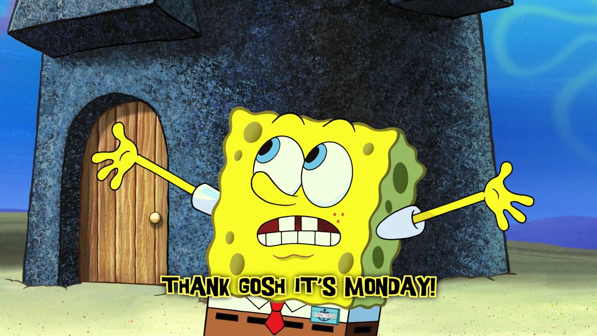 「海綿寶寶之歌:快樂星期一」- Thank Gosh It's Monday
