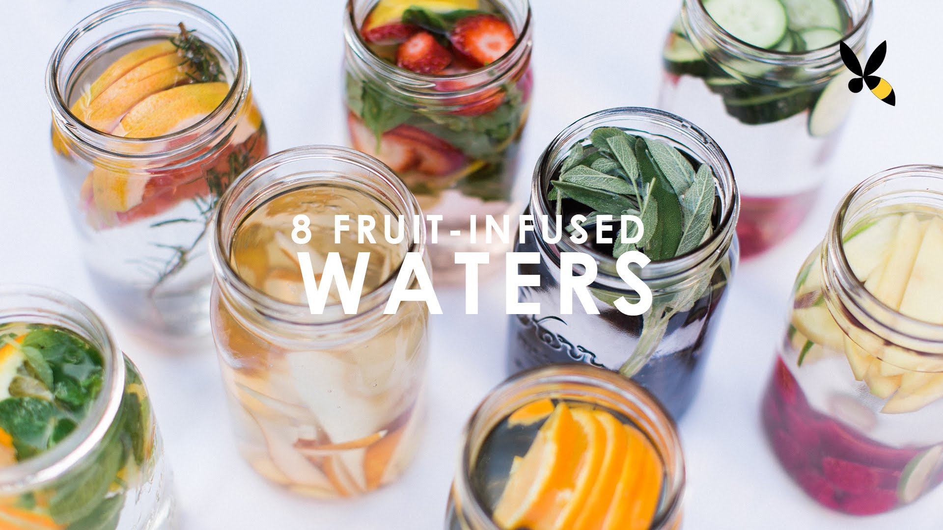 「健康一夏!水果風味水」- Fruit Infused Water: 8 Ways to drink more Water