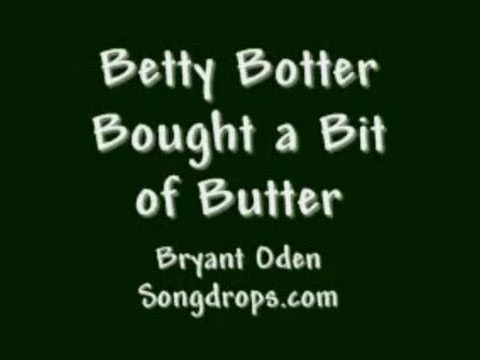 「繞口令大挑戰」- Betty Botter Bought a Bit of Butter