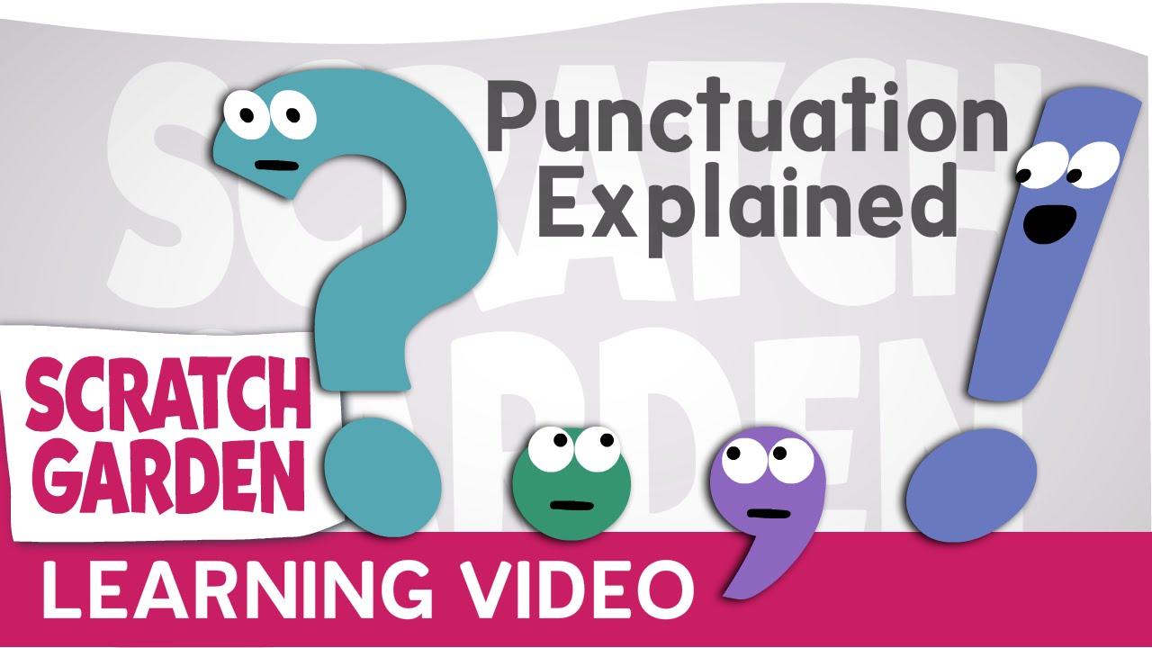 「標點符號開課囉!」- Punctuation Explained (by Punctuation!)