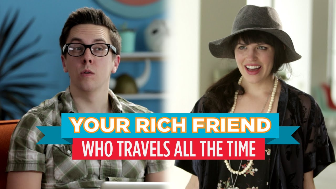 「哼,有什麼了不起!那個永遠在出國的好野人朋友」- Your Rich Friend Who Travels All the Time (Hardly Working)