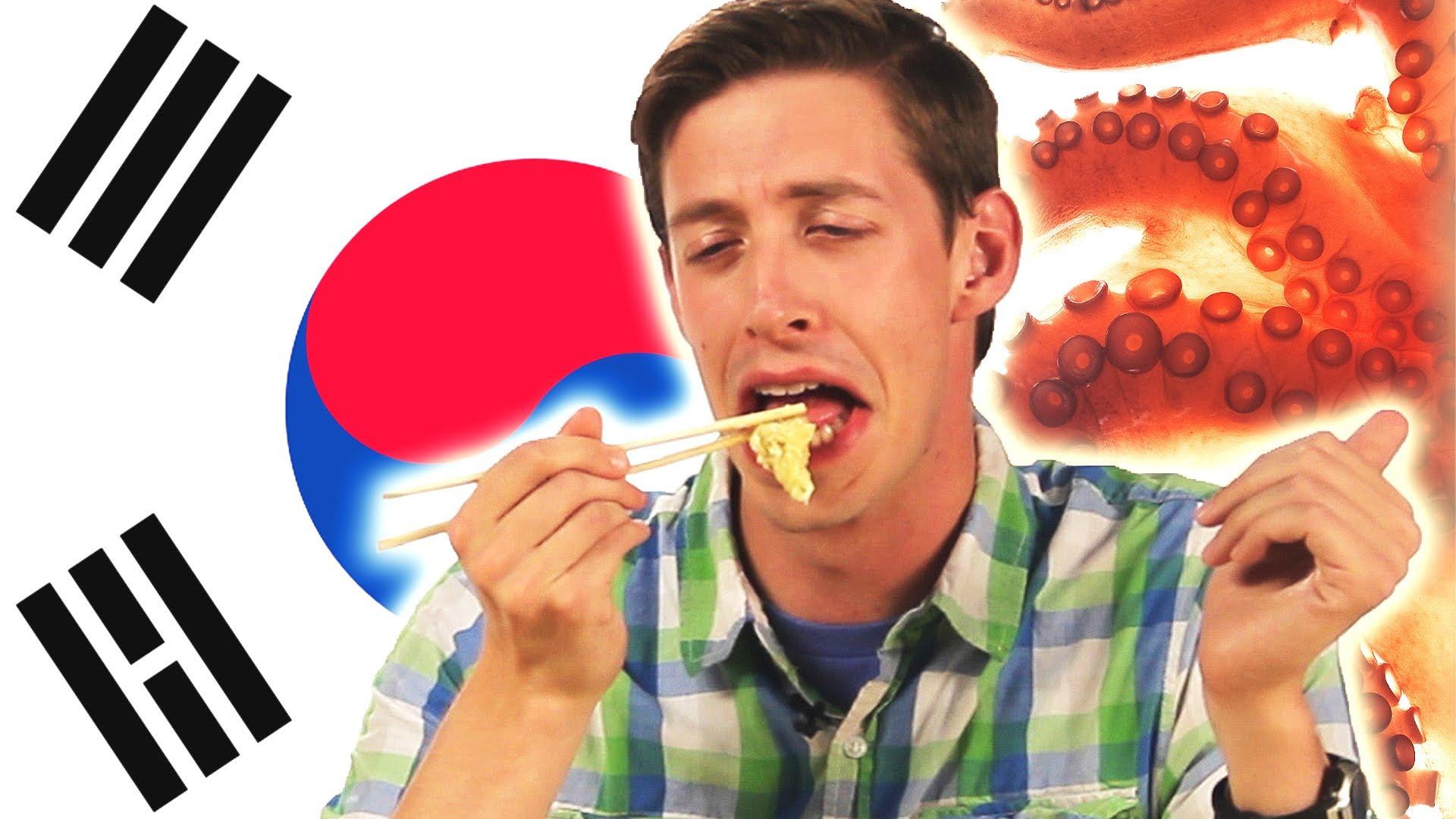 美國人吃亞洲特色美食,結果......