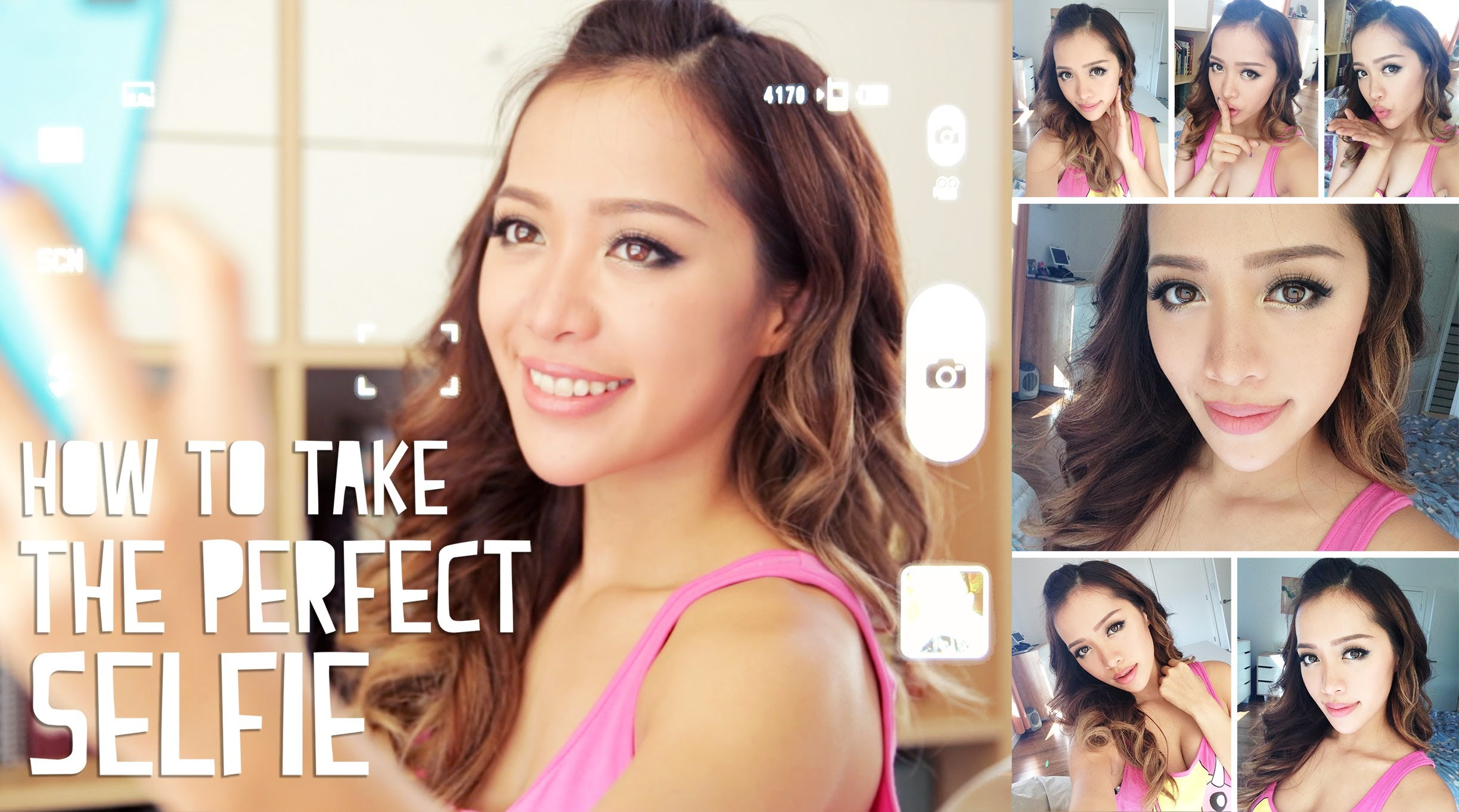 「如何拍出完美自拍」- How to Take The Perfect Selfie