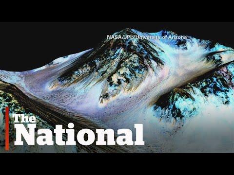 驚人發現!火星上可能存在液態水