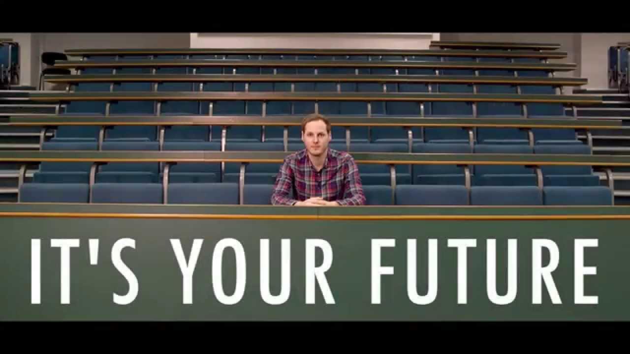 「用選票發聲吧!這是屬於你的未來」- It's Your Future