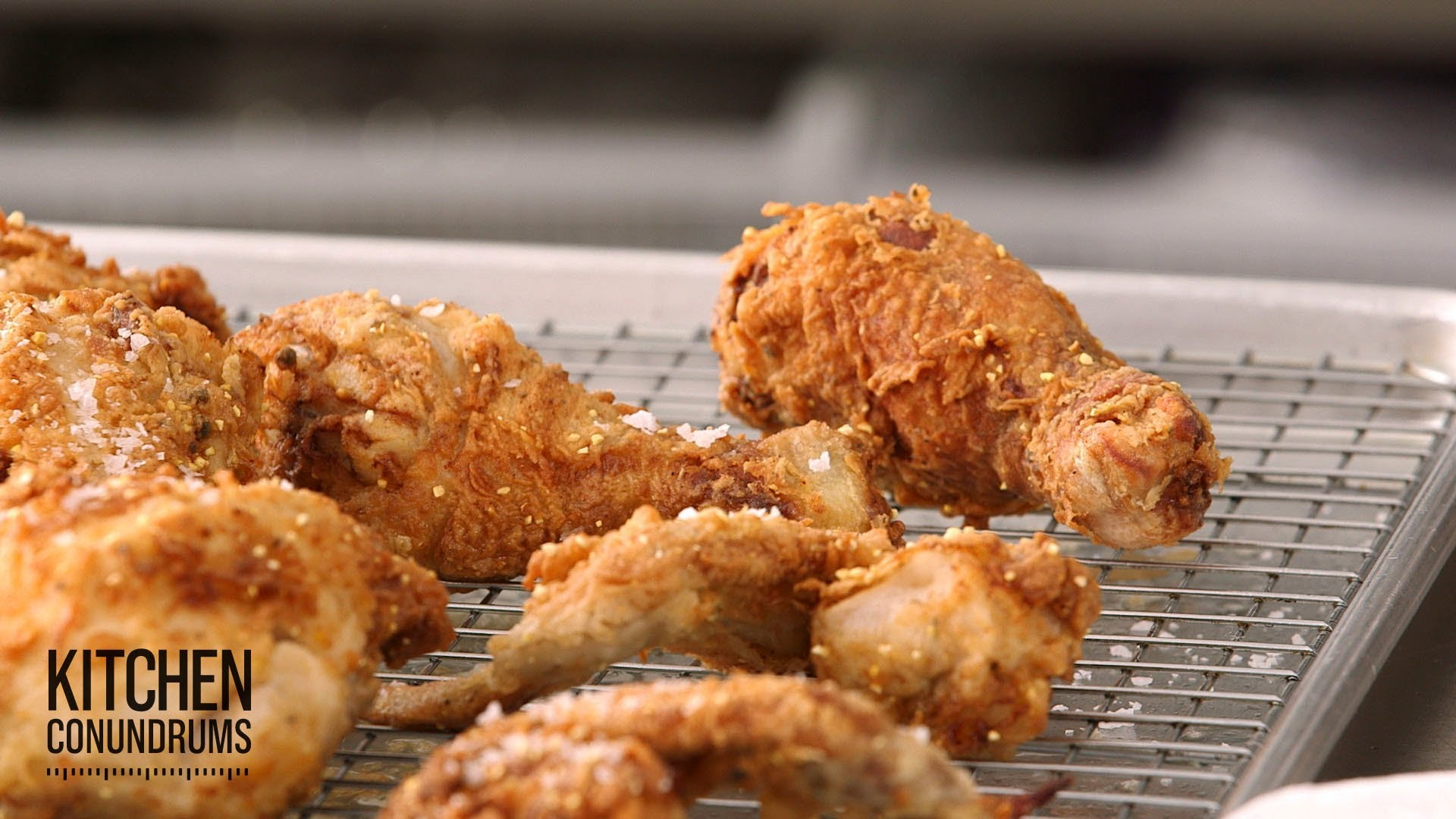 「FRIDAY NIGHT!!! 為您送上讓人無法抵抗的炸雞食譜」- No-Fail Deep-Fried Chicken