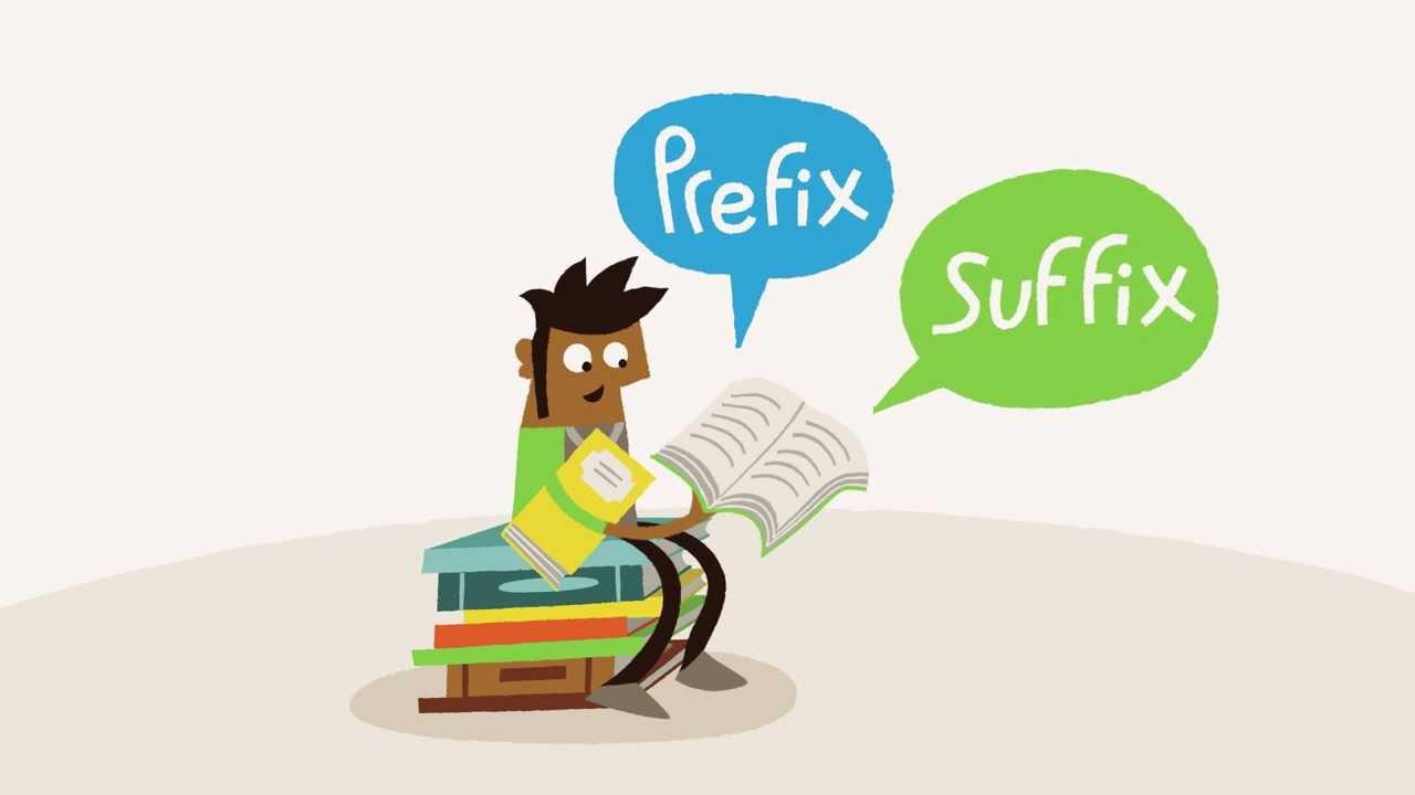 「認識單字的好幫手:英文字首和字尾」- English Language Learning Tips - Prefixes and Suffixes