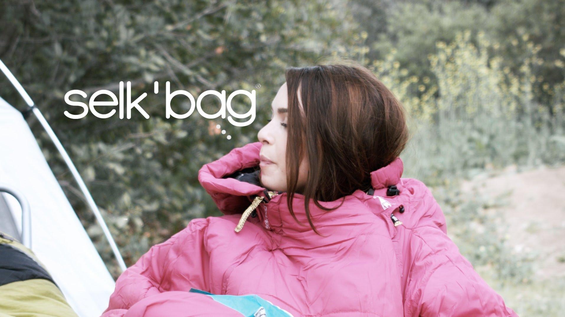 「寒冬必備!一起變身神客睡袋人」- Selk'bag