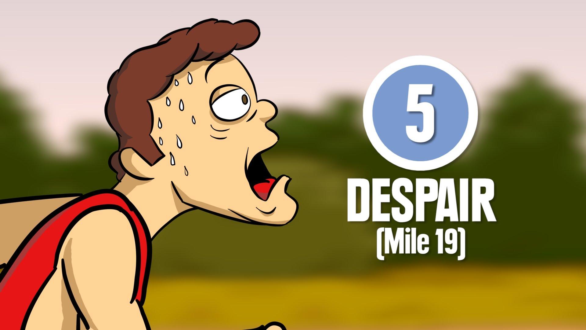 「跑馬拉松必經的八個階段,你一定感同身受!」- The 8 Stages of Running a Marathon