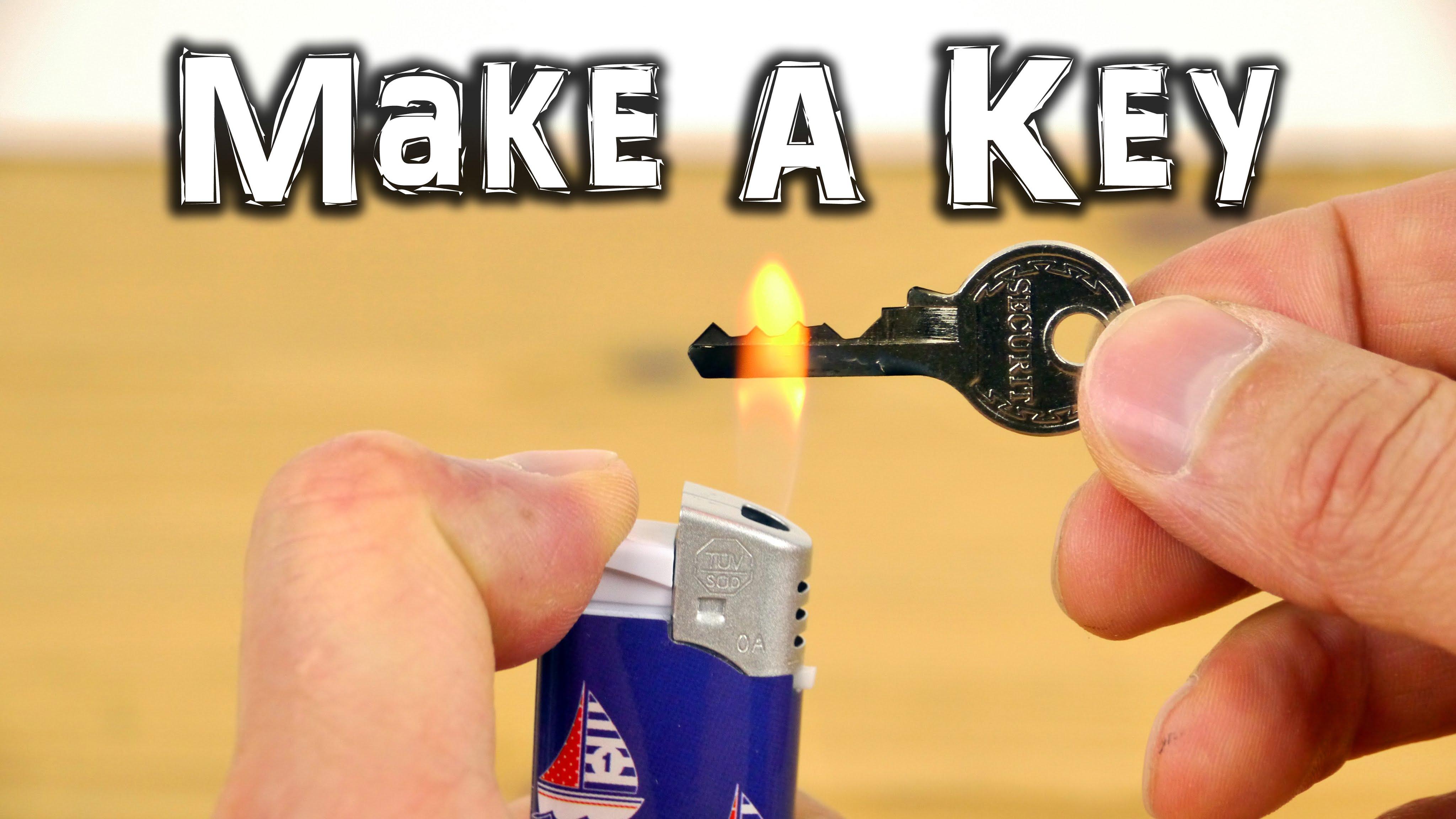 「備份鑰匙自己動手做?!」- Emergency Spare Key