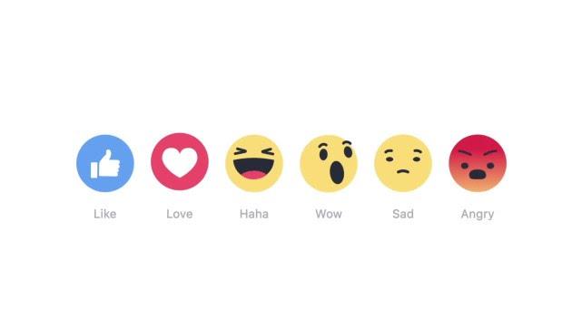 不再只有『讚』!臉書終於推出新回應功能