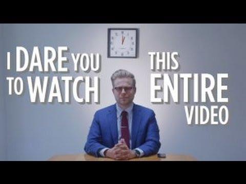 「我敢說,你看不完這短短三分鐘影片」- I Dare You to Watch This Entire Video
