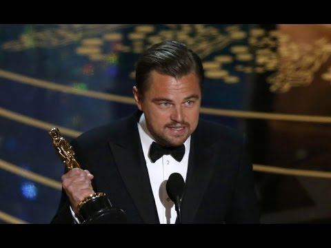 「終於等到這一刻!李奧納多 2016 奧斯卡得獎感言」- Leonardo DiCaprio's Winning Speech for Best Actor