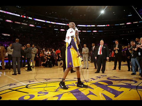 「Kobe Bryant 生涯最終戰--賽後感言完整版」- Kobe Bryant Speech After Final Game