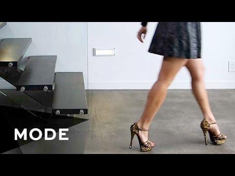「穿高跟鞋,這樣走最優雅!」- How to Walk in Heels