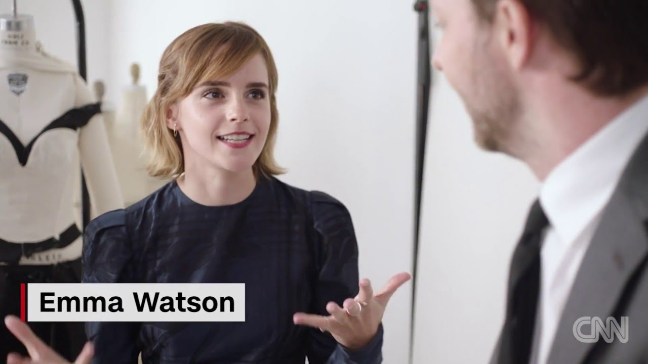 「Emma Watson 的綠色時尚新態度」- Emma Watson Dons Dress Made of This