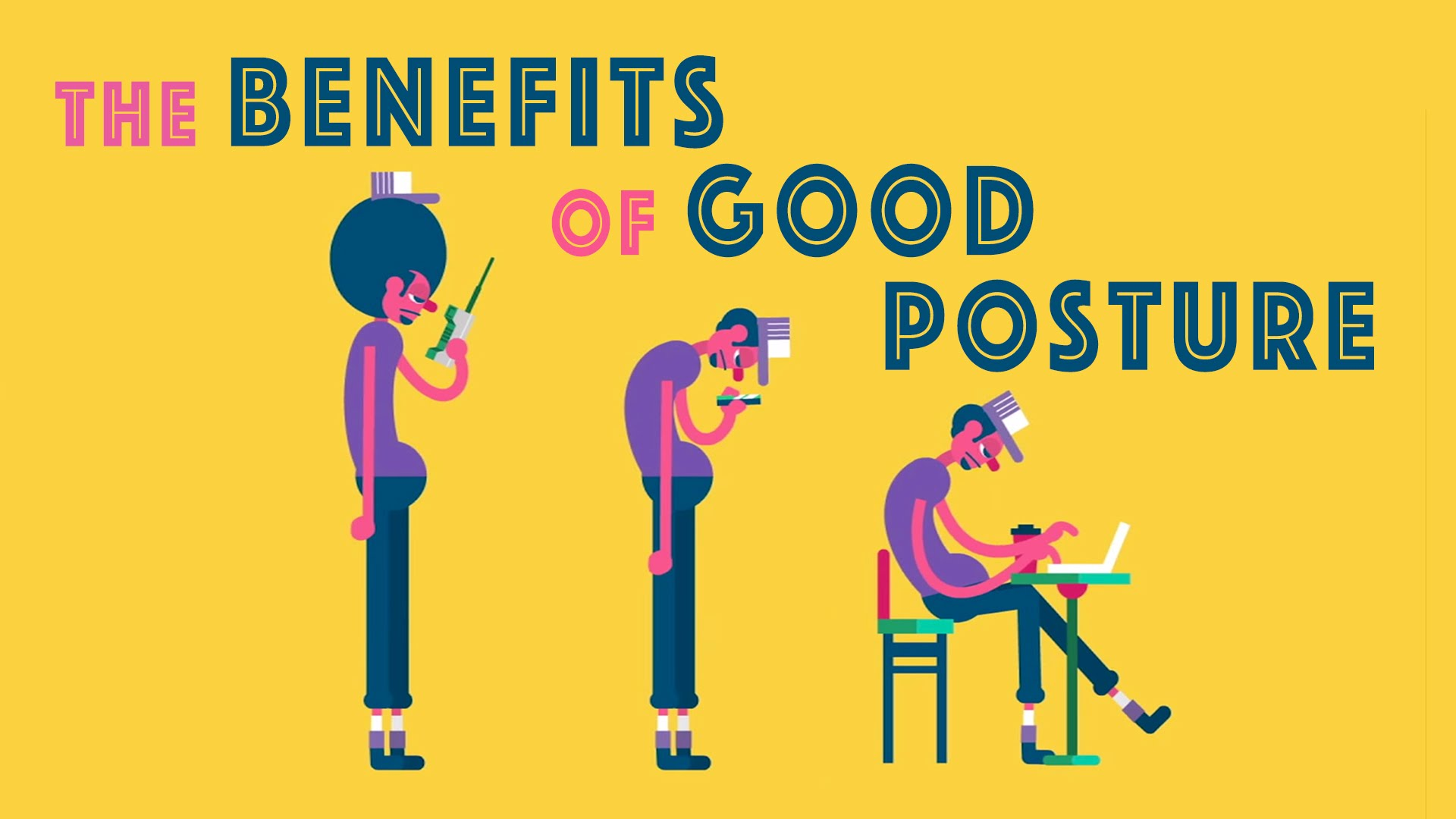 「姿勢正確好處多多」- The Benefits of Good Posture
